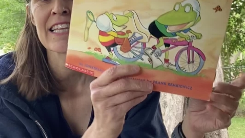 Thumbnail for entry Ms. Wagoner's Storytime: Let's Go Froggy! by Jonathan London