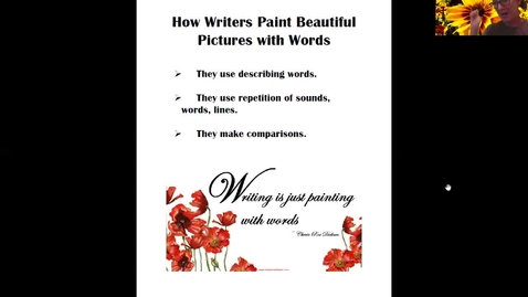 Thumbnail for entry Painting Beautiful Pictures with Words