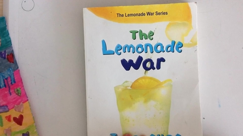 Thumbnail for entry The Lemonade War  Chapter 14