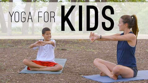 Thumbnail for entry Yoga For Kids       Play In The Park       Yoga With Adriene