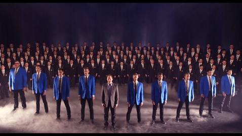Thumbnail for entry Nearer, My God, to Thee | BYU Vocal Point ft. BYU Men's Chorus