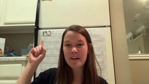 Thumbnail for entry Spelling Lesson 132