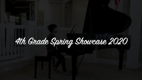 Thumbnail for entry 4th grade showcase 2020