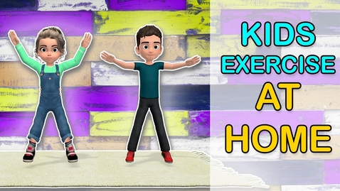 Thumbnail for entry Best Kids Exercise Video Workout At Home