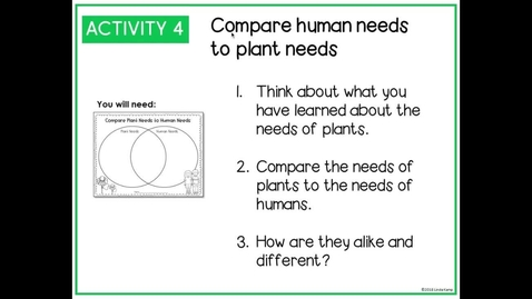 Thumbnail for entry Lesson 5 How Do Leaves Help a Plant Get Light
