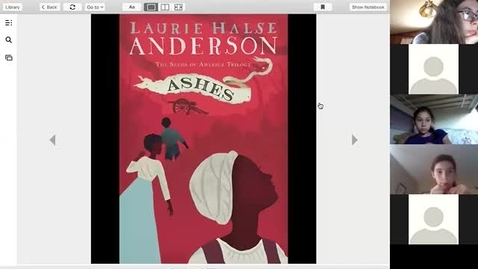 Thumbnail for entry Tuesday read aloud 4:28 Ashes