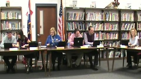 Thumbnail for entry School Board Meeting 2/09/2012