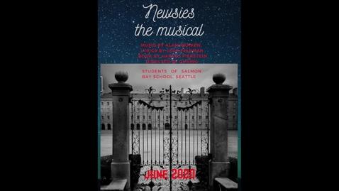 Thumbnail for entry Newsies - The Bottom Line reprise w/  Roosevelt - Scene #16