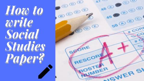 Thumbnail for entry Social Studies Paper Presentation Tips |Social Science Paper Presentation | Exam Tips | Letstute