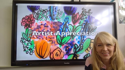 Thumbnail for entry Third Grade Raoul Dufy Art