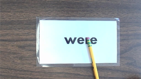 Thumbnail for entry Monday Sight Words