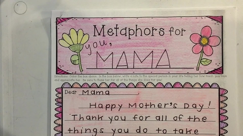 Thumbnail for entry 3rd Grade Mother's Day Card.mp4