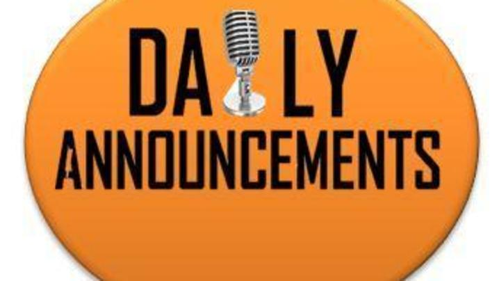 Thumbnail for channel PC Daily Announcements
