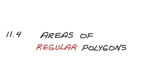 Thumbnail for entry Areas of Regular Polygons