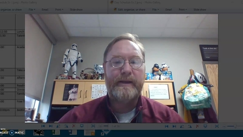 Thumbnail for entry Scheduling Tips from Principal