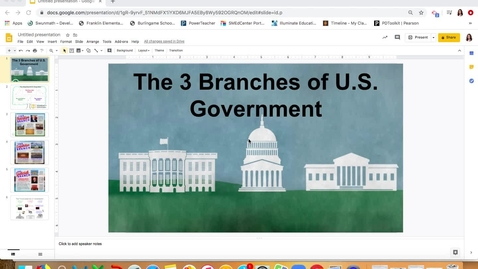 Thumbnail for entry The Executive Branch
