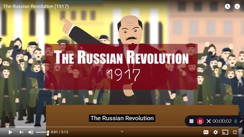 Thumbnail for entry Russian Revolution