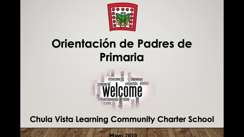 Thumbnail for entry Orientación de padres 2020-2021