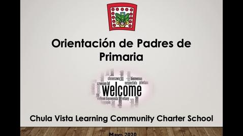 Thumbnail for entry Orientación de padres 2020-2021
