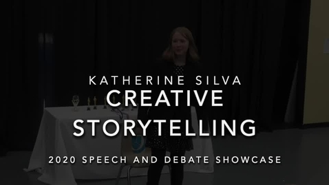 Thumbnail for entry Katherine Silva (Creative Storytelling).mp4