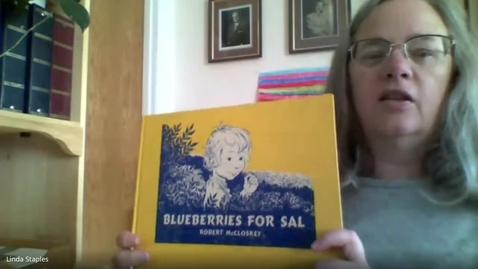 Thumbnail for entry Blueberries for Sal - Mrs. Staples