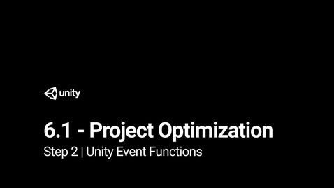 Thumbnail for entry 2.Unity Event Functions