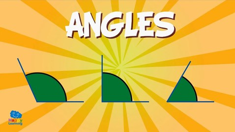 Thumbnail for entry Angles: measuring angles and their names!   Educational Videos for Kids