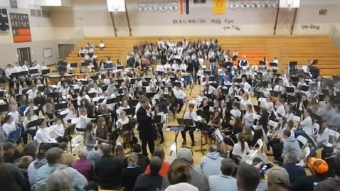 Thumbnail for entry SEWMEA Middle School Mass Festival Band 2018