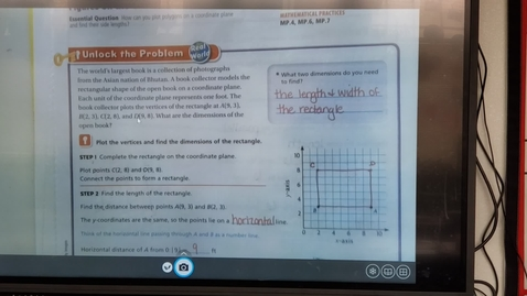 Thumbnail for entry 6th Grade Math, Lesson 10.9, Tuesday,  March 31