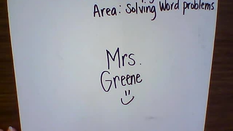 Thumbnail for entry Math 5.11.11 Area Solving Word Problems
