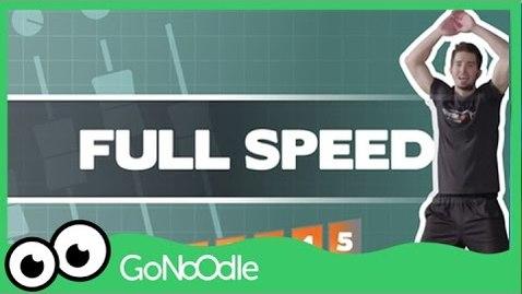 Thumbnail for entry Full Speed - Fresh Start Fitness | GoNoodle