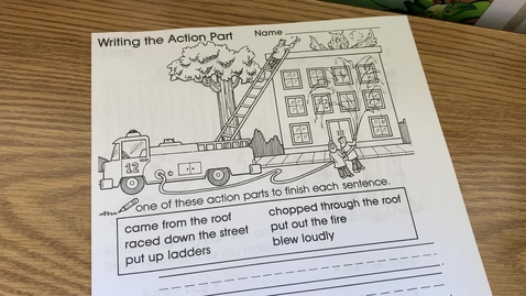 Thumbnail for entry 1st Grade GRAMMAR - Thursday, May 7