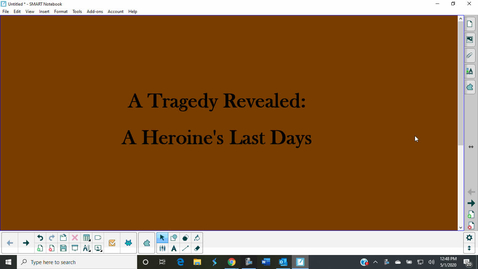Thumbnail for entry A Tragedy Revealed