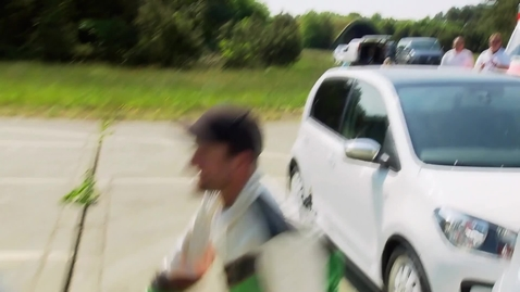 Thumbnail for entry Tightest 360 degree spin turn in a car