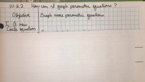 Thumbnail for entry HIM3 10.2.2 part1 Circle Equation