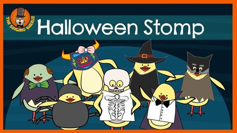 Thumbnail for entry The Singing Walrus | Halloween Stomp
