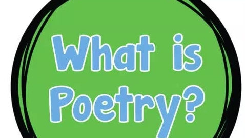 Thumbnail for entry Poetry Vocabulary