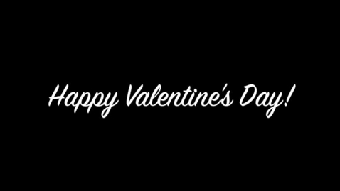 Thumbnail for entry Valentine's Day Celebration