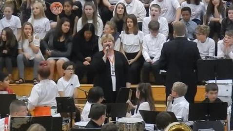 Thumbnail for entry SEWMEA Middle School Mass Festival Choir 2018