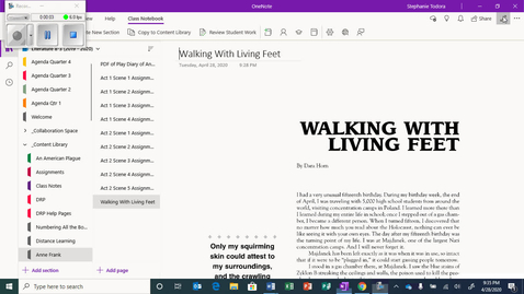 Thumbnail for entry Walking with Living Feet