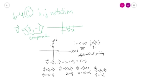 Thumbnail for entry trig 6-4 C unit vectors i-j format