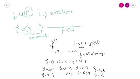 Thumbnail for entry trig 6-4 C unit vectors i-j format