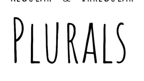 Thumbnail for entry Regular and Irregular Plurals