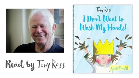 Thumbnail for entry Tony Ross reads I Don't Want To Wash My Hands