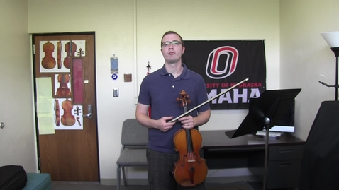 Thumbnail for entry Viola Scales: NMEA 2020 (and previous years) audition repertoire tutorial