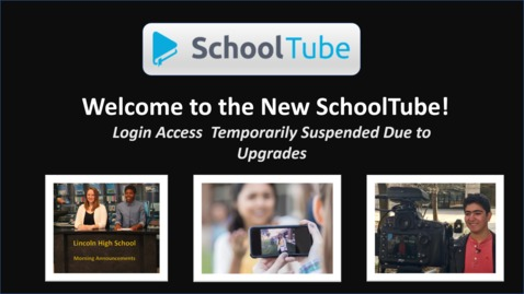 Thumbnail for entry ALERT: Login Temporarily Unavailable During Upgrades - Watch to Learn More