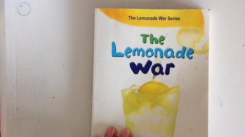 Thumbnail for entry The Lemonade War Chapter 13