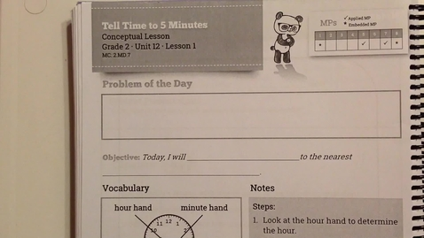 Thumbnail for entry Unit 12, Lesson 1 Helpful Tips