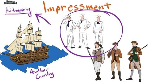 Thumbnail for entry Impressment Definition for Kids