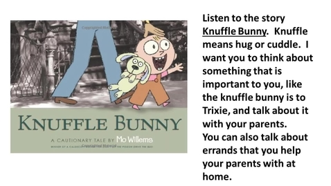 Thumbnail for entry knuffle bunny